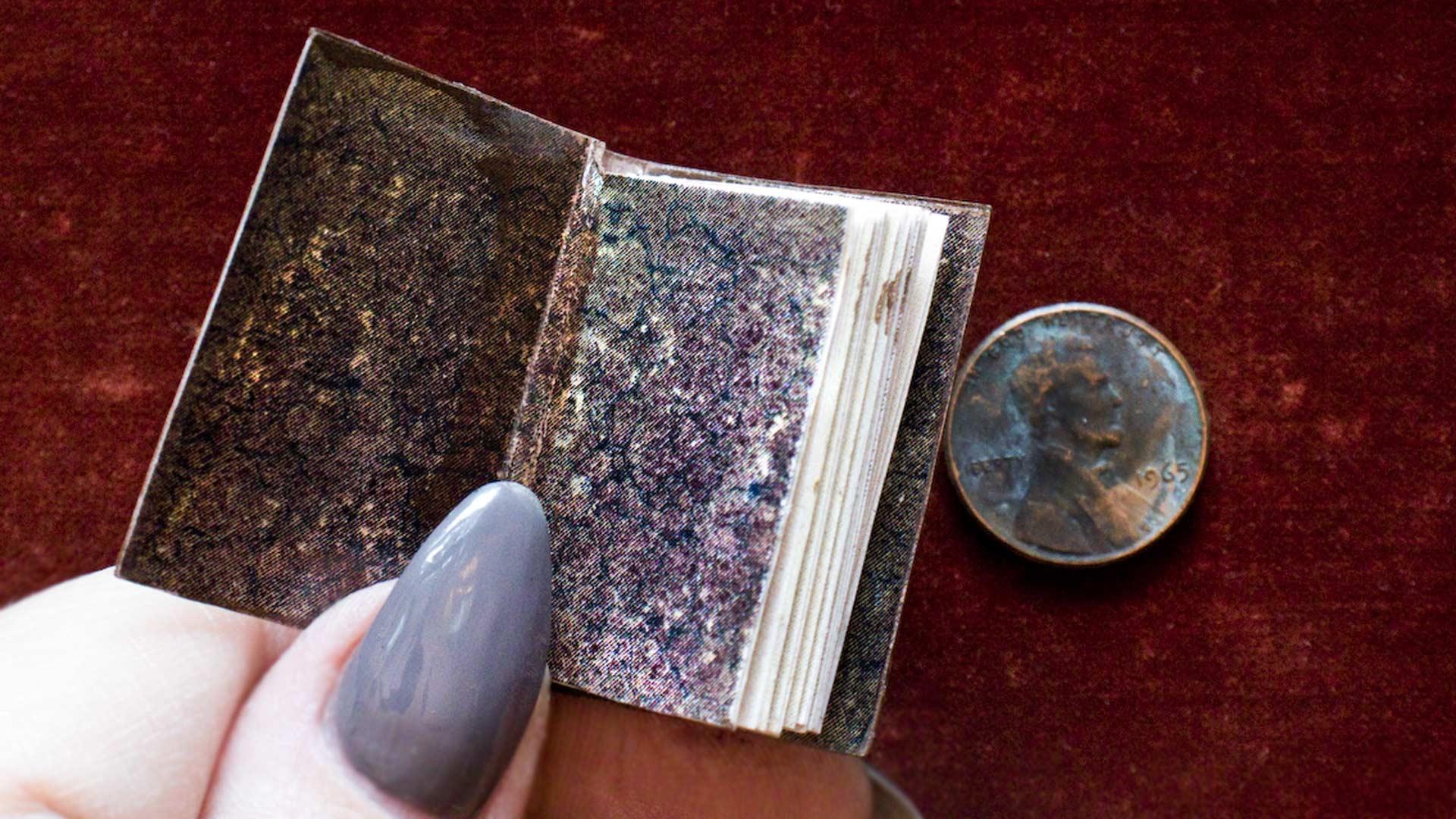 Miniature Books - A Love Affair | Thicketworks