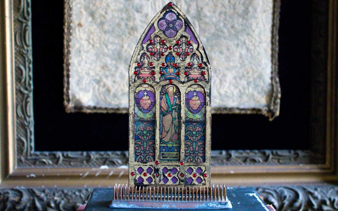 How To Make Miniature Stained Gl Windows Thicketworks
